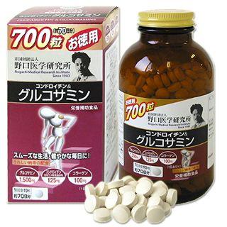 Глюкозамин, Хондроитин, Коллаген на 70 дней Noguchi