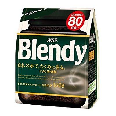 AGF Blendy Mellow Rich 160g мягкий вкус (растворимый)